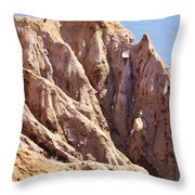 The Beauty In Erosion Throw Pillow