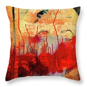 The Beauty In The City Throw Pillow