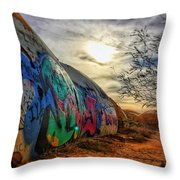 The Beauty In The Madness Throw Pillow