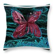 The Beauty Of A Butterfly's Spirit Throw Pillow