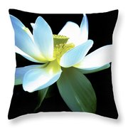 The Beauty Of A Lotus Throw Pillow