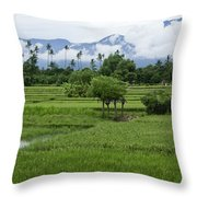 The Beauty Of Bali Throw Pillow
