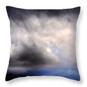 The Beauty Of Clouds Throw Pillow