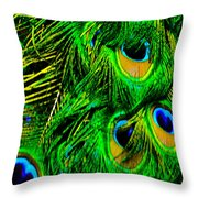 The Beauty Of Color Throw Pillow
