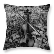 The Beauty Of Country Throw Pillow