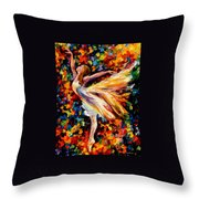 The Beauty Of Dance Throw Pillow