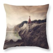 The Beauty Of Life Throw Pillow