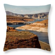 The Beauty Of Powell  Throw Pillow