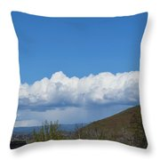 The Beauty Of Rain Clouds Throw Pillow