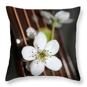 The Beauty Of Strings Throw Pillow