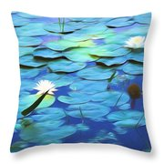 The Beauty Of Sunshine Throw Pillow