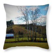 The Beauty Of The Country Throw Pillow