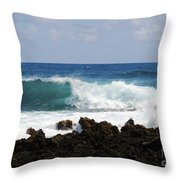 The Beauty Of The Sea Throw Pillow