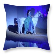 The Beauty Throw Pillow