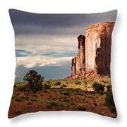 The Beer Stein Throw Pillow by Lana Trussell
