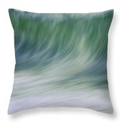 The Beginning Curl Throw Pillow