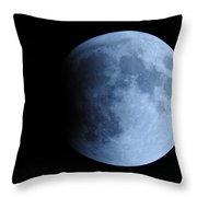 The Beginning Of An Eclipse  Throw Pillow