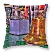 The Bell Tolls Throw Pillow