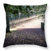 The Bench Throw Pillow
