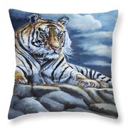 The Bengal Tiger Throw Pillow