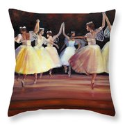 The Berkshire Ballet Throw Pillow