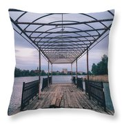 The Berth Throw Pillow