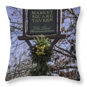 The Best Accommodations Throw Pillow