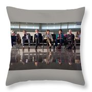 The Best Exotic Marigold Hotel Throw Pillow