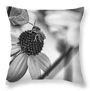 The Best Gardener - Bw Throw Pillow