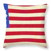 The Betsy Ross Flag Throw Pillow