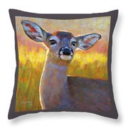 The Better To Hear You With My Dear Throw Pillow