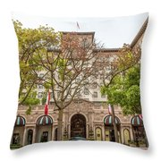 The Beverly Hills Wilshire Throw Pillow