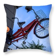 The Bicycle Thief - Halifax Throw Pillow