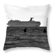 The Big Catch Throw Pillow