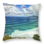 The Big Empty Throw Pillow