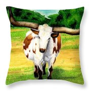 The Big Guy Throw Pillow