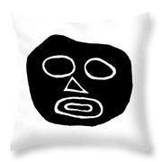 The Big Head Throw Pillow