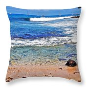 The Big Island Throw Pillow