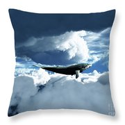 The Big Move Throw Pillow