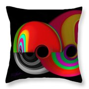 The Big Red One Throw Pillow