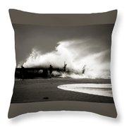 The Big Surge Throw Pillow