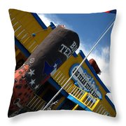 The Big Texan II Throw Pillow