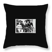 The Big Three Throw Pillow