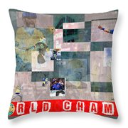 The Billy Goat Is Dead Throw Pillow