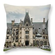 The Biltmore Estate Throw Pillow