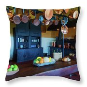 The Biltmore Kitchen Throw Pillow