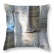 The Birch Throw Pillow