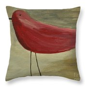 The Bird - Original Throw Pillow