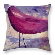 The Bird - K0912b Throw Pillow