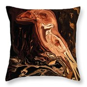 The Bird Unknown 2 Throw Pillow